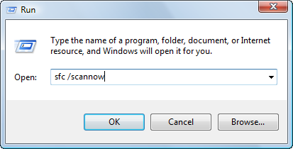 Fix corrupt files with XP SCANS