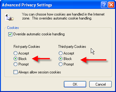 how to delete all cookies from computer